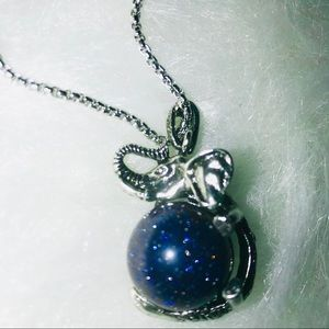 Jewelry - 💥Gemstone Crystal Retro Elephant Pendant Necklace